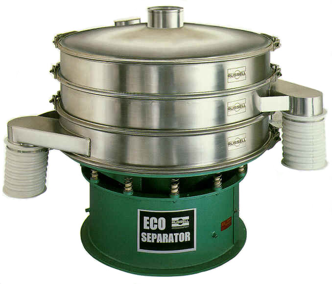 Vibratory separator for grading, scalping, sizing and product recovery