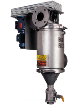 High temperature in-line filter for filtering liquids up to 250°C